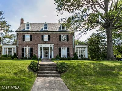 Guilford, Guilford/Jhu Single Family Home For Sale: 3901 Greenway
