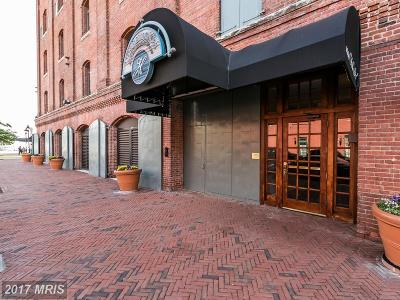 Fells Poi Nt, Fells Point, Fells Point/Hopkins, Fells Pt./Hopkins Condo For Sale: 1000 Fell Street #609