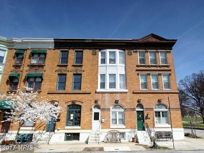 Baltimore City Rental For Rent: 145 Linwood Avenue S