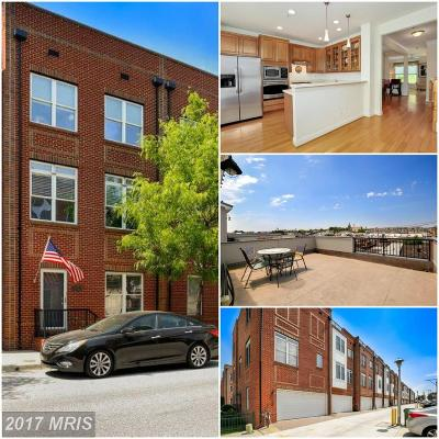 Baltimore MD Townhouse For Sale: $474,900