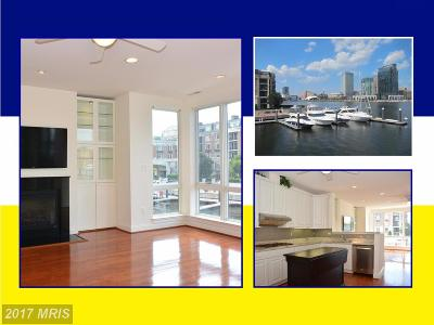 Baltimore City Rental For Rent: 612 Ponte Villas North #168