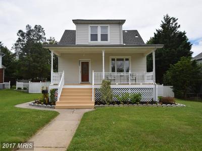 Baltimore Single Family Home For Sale: 3807 Walnut Avenue