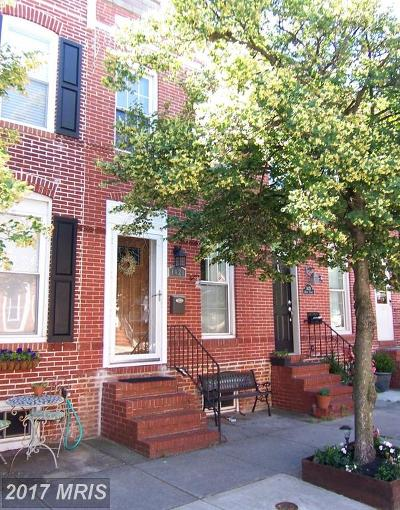 Baltimore MD Townhouse For Sale: $324,999