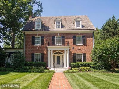 Guilford, Guilford/Jhu Single Family Home For Sale: 4204 Greenway