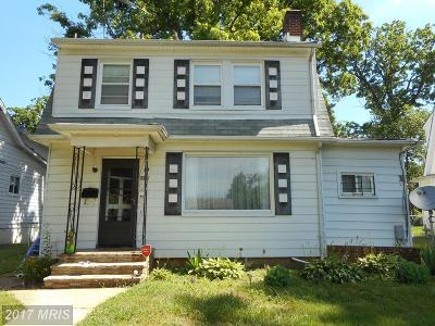 Baltimore Single Family Home For Sale: 4202 Wentworth Road