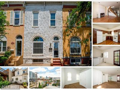 Baltimore MD Townhouse For Sale: $279,900