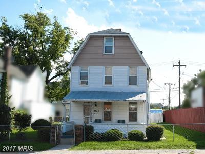 Baltimore Single Family Home For Sale: 3539 Caton Avenue