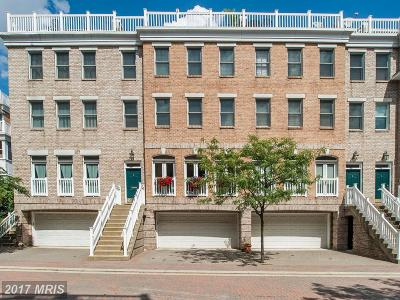 Baltimore City Rental For Rent: 1237 Harbor Island Walk