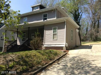 Baltimore Single Family Home For Sale: 3716 Chesholm Road