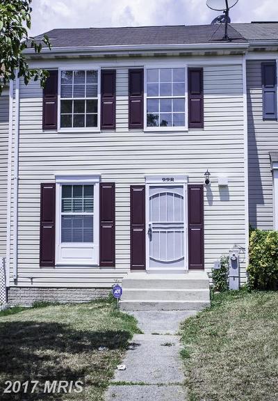 Baltimore City Townhouse For Sale: 228 Maude Avenue