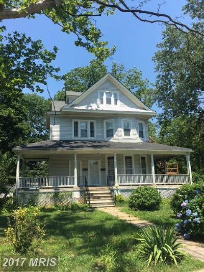 Baltimore Single Family Home For Sale: 5106 Gwynn Oak Avenue