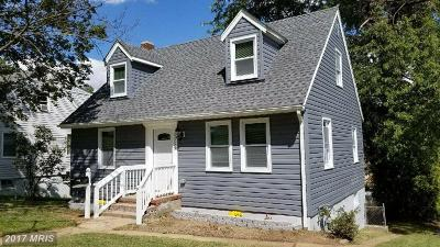 Baltimore Single Family Home For Sale: 5555 Gayland Road