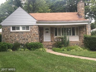Randallstown Single Family Home For Sale: 8900 Flagstone Circle