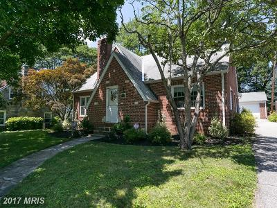 Towson Single Family Home For Sale: 806 Weatherbee Road