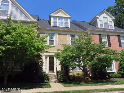 Hunt Valley, Lutherville Timonium Townhouse For Sale: 37 Farnham Way