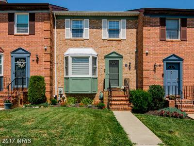 Cockeysville Townhouse For Sale: 26 Cherrywood Court