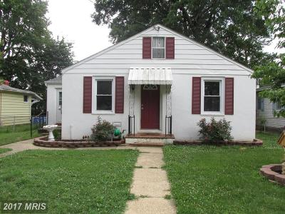 Baltimore Single Family Home For Sale: 949 Barron Avenue