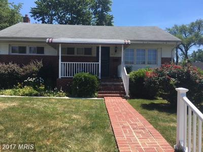 Baltimore Single Family Home For Sale: 7414 Eldon Court