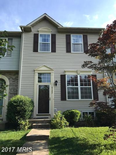 Owings Mills Townhouse For Sale: 8322 Township Drive