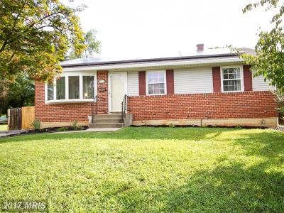 Owings Mills Single Family Home For Sale: 622 Hammershire Road