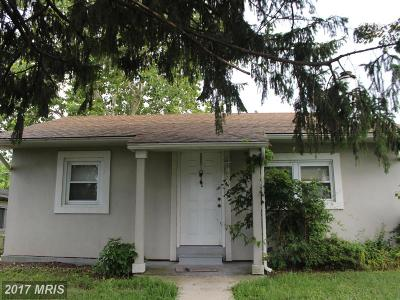 Baltimore Single Family Home For Sale: 26 Right Wing Drive