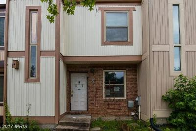 Baltimore Townhouse For Sale: 5 Mooring Court