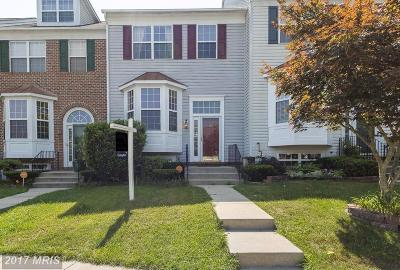 Randallstown Townhouse For Sale: 4325 Breeders Cup Circle