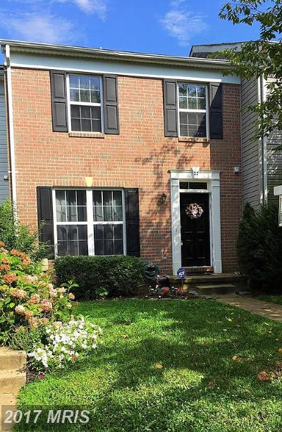 Reisterstown Townhouse For Sale: 27 Brampton Court