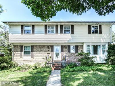 Lutherville Timonium Single Family Home For Sale: 242 Padonia Road