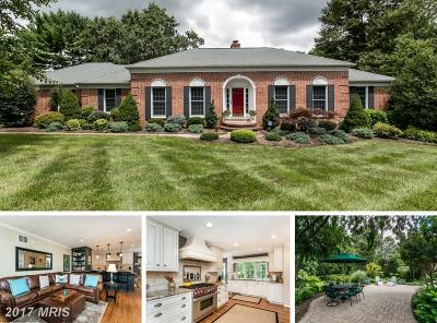 Reisterstown Single Family Home For Sale: 13005 Gent Road