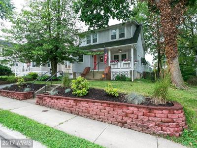 Towson Single Family Home For Sale: 505 Allegheny Avenue