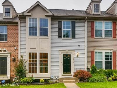 Owings Mills Townhouse For Sale: 9966 Sherwood Farm Road