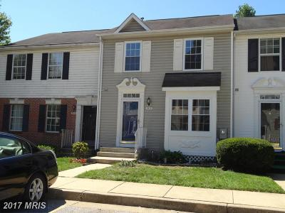 Randallstown Townhouse For Sale: 3513 Corn Stream Road