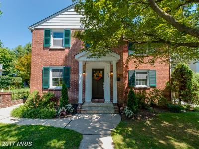 Baltimore Single Family Home For Sale: 506 Park Avenue