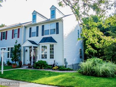 perry hall Townhouse For Sale: 8820 Fox Circle