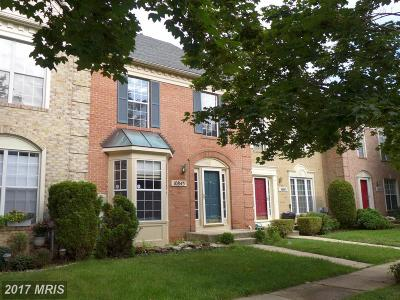 Owings Mills Townhouse For Sale: 10845 Sherwood Hill Road