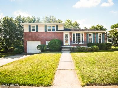Baltimore Single Family Home For Sale: 9223 Orbitan Road