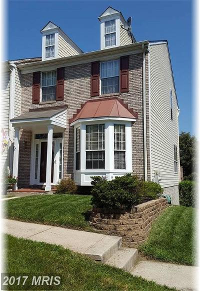 perry hall Townhouse For Sale: 8832 Fox Circle