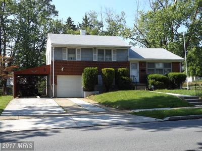 Randallstown Single Family Home For Sale: 8505 Church Lane