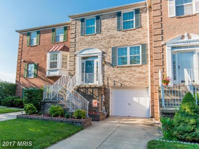 Owings Mills Townhouse For Sale: 9436 Georgian Way