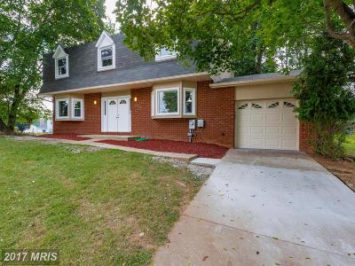 Randallstown Single Family Home For Sale: 4100 Century Towne Road