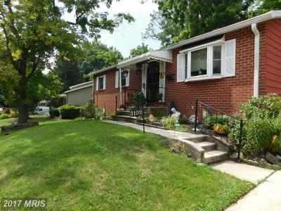 Single Family Home For Sale: 3102 Essex Road