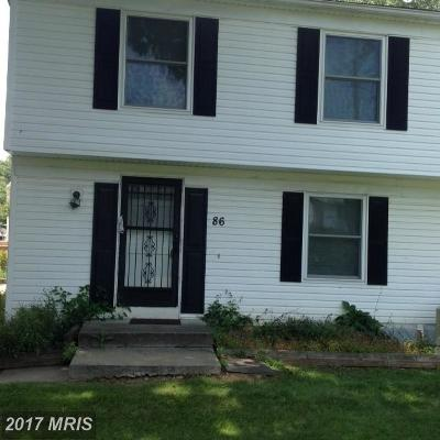 Reisterstown Single Family Home For Sale: 86 Ewing Drive #C