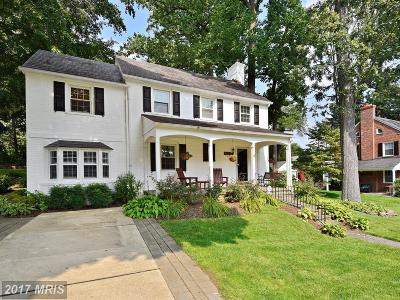 Baltimore Single Family Home For Sale: 7112 Wardman Road
