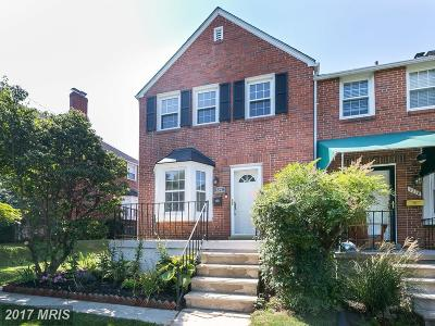 Towson Townhouse For Sale: 8328 Wyton Road