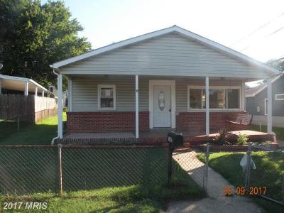 Baltimore Single Family Home For Sale: 1003 Cord Street