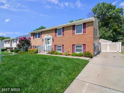 Catonsville Single Family Home For Sale: 406 Westside Boulevard