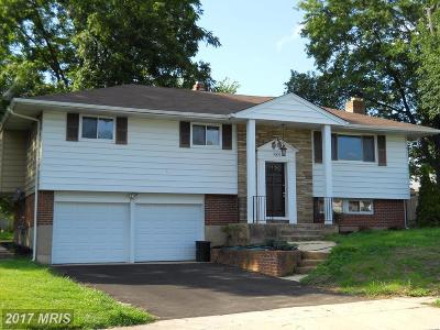 Randallstown Single Family Home For Sale: 3504 Diaz Court