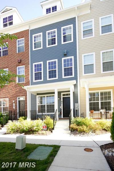Towson Townhouse For Sale: 61 Linden Place