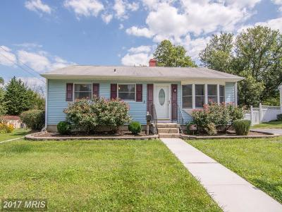 Owings Mills Single Family Home For Sale: 125 Cedarmere Road